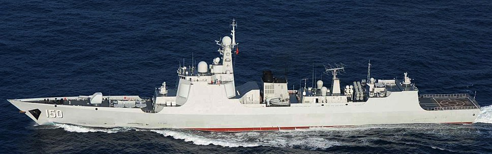 PLANS Changchun (DDG-150) 20150718