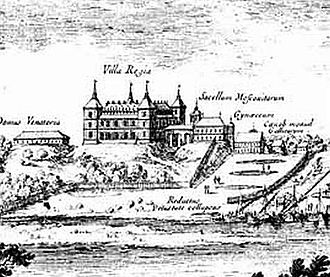 "Kazimierz Palace - Villa Regia (""Royal Villa""), 1656"