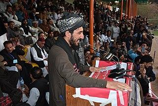 Manzoor Pashteen Pakistani Pashtun human rights activist