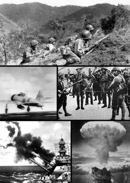 Pacific war tile picture