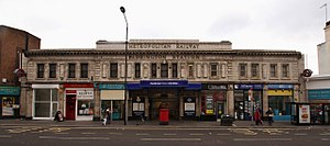 Paddington tube station (Bakerloo, Circle and District lines) - Entrance on Praed Street