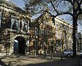 Pageshuis met trapgevel en links het (huidige) ingangspoortje - 's-Gravenhage - 20390108 - RCE.jpg