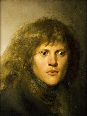 Jan Lievens - Self portrait