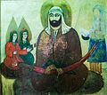 Painting in Emamzadeh Esmaeil.jpg
