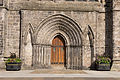 Paisley Abbey from West - Detail of doorway.jpg