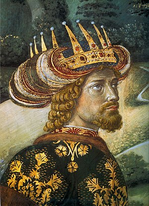 John VIII Palaiologos - John VIII Palaiologos, by Benozzo Gozzoli
