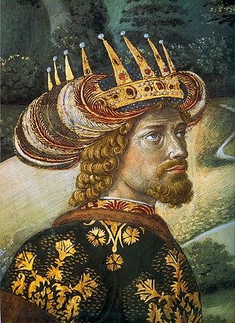 Filioque - John VIII Palaiologos by Benozzo Gozzoli