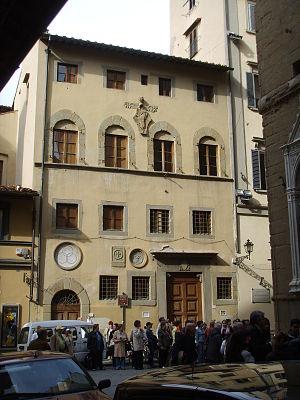 Palazzo dell'Arte dei Beccai - Façade of the Palazzo dell'Arte dei Beccai