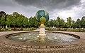 Paleis Het Loo, Fontein in de vorm van de Aarde.jpg
