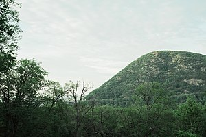Palisades Interstate Parkway - View of  Bear Mountain State Park from Palisades Interstate Parkway.