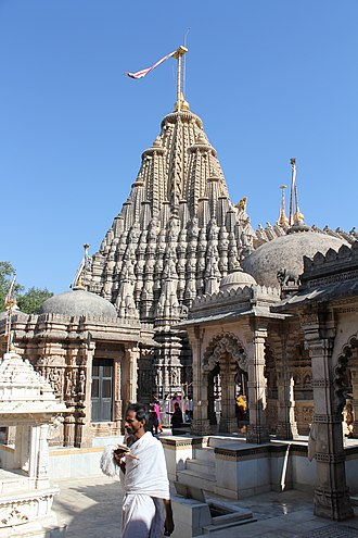 Vastupala - Adinatha Temple on Mount Shatrunjaya