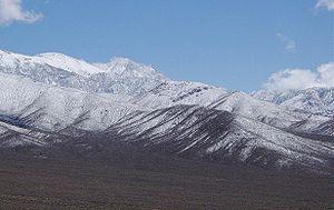 Panamint Range - Panamint Range looking toward Telescope Peak