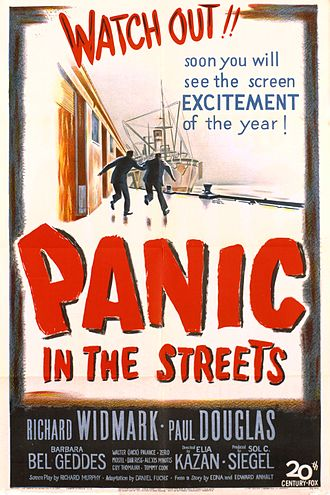 Panic in the Streets (film) - Theatrical release poster