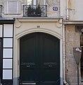 Panneau Histoire de Paris Adam Mickiewicz, 63 rue de Seine.jpg