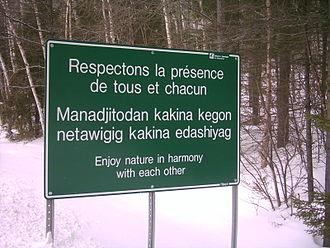 Pierre Gaultier de Varennes, sieur de La Vérendrye - La Vérendrye Wildlife Reserve, Québec