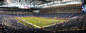 Ford Field - Image: Pano 2 copy filtered copy