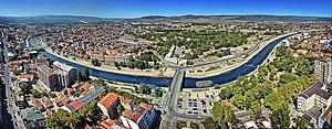 Niš - Image: Panorama Nisa