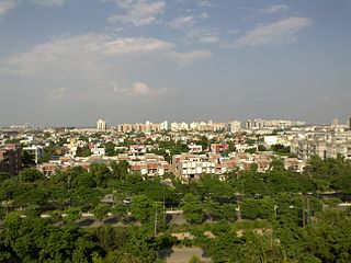 Greater Noida City in Uttar Pradesh, India