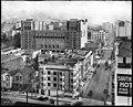 Panoramic view of Los Angeles, showing Sixth Street, Figueroa Street, Flower Street, east side of Sixth Street, ca.1916 (CHS-5795.6).jpg