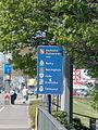 Panou la intrarea in Karlsruhe.JPG