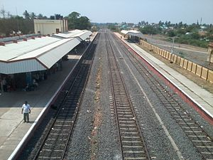 Panruti - Panruti railway station's view