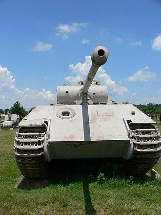 Shot trap - Image: Panzerkampfwagen V A 2