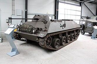 Schützenpanzer Lang HS.30 - HS.30 at the Deutsches Panzermuseum Munster