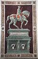 Paolo uccello, Monumento equestre di John Hawkwood, 1436, 01.JPG