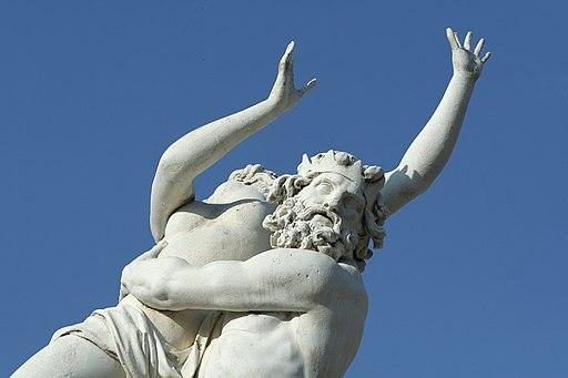 Parc de Versailles, Bosquet de la colonnade, Enlèvement de Proserpine par Pluton, François Girardon 05