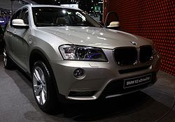 Paris - Mondial de l'automobile 2010 - BMW X3 - 002.JPG