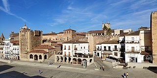 historic center of Cáceres, Cáceres Province, Extremadura, Spain