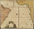 Pascaarte vande zee custen van Guinea, en Brasilia, van Cabo de Verde, tot C. de bona Esperanc̨a (3120221839).jpg