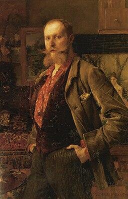 Pascal Dagnan-Bouveret - Portrait de Gustave Courtois