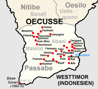 Passabe Administrative Post Administrative object of East Timor