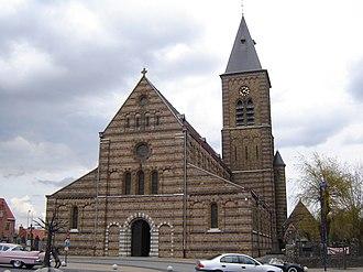 Passendale - Image: Passendale Sint Audomaruskerk 1