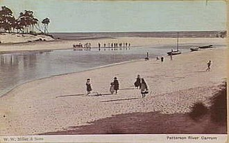 Patterson River - Image: Patterson River postcard 1908