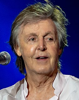 Paul McCartney English singer-songwriter and composer, bassist of The Beatles