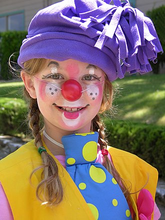 El Dorado County Fair - A Clown El Dorado County Fair 2006