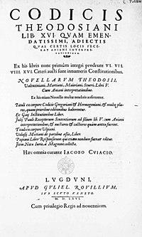 Paulus, Iulius – Codex Theodosianus, 1566 – BEIC 13787330.jpg