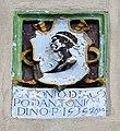 Peccioli, palazzo pretorio, stemma pucci, 1535.jpg