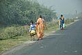 Pedestrians - Habibpur - Ranaghat - NH-34 - Nadia 2014-11-28 9942.JPG