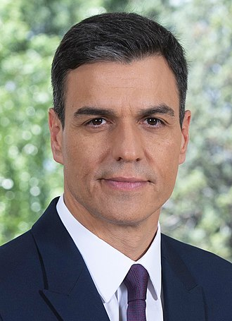 Prime Minister of Spain - Image: Pedro Sánchez in 2018d