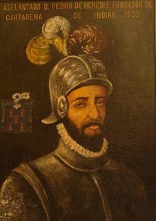 Pedro de Heredia Spanish conquistador (1505-1554)