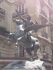 The Poet Riding Pegasus