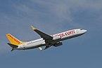 Pegasus Airlines Boeing 737-800, Munich, April 2019.jpg