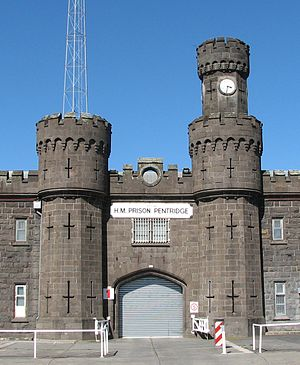 Bluestone - HM Prison Pentridge was one of the many buildings constructed of local bluestone in Melbourne in the 19th century