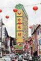 People's Park building, lanterns in Chinatown, Singapore - panoramio.jpg