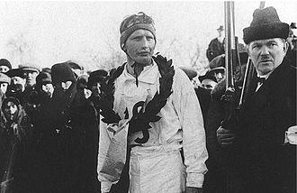 1897 in Sweden - Per-Erik Hedlund, Olympic champion in 50 km in 1928.