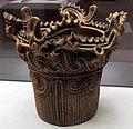 Periodo joomon, vaso da fuoco dal sito di doudaira, tsunan, 300 ac. ca. 01.JPG