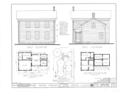 Perkins Farmhouse, Route 22, Genoa, De Kalb County, IL HABS ILL,19-GENO.V,1- (sheet 1 of 2).png